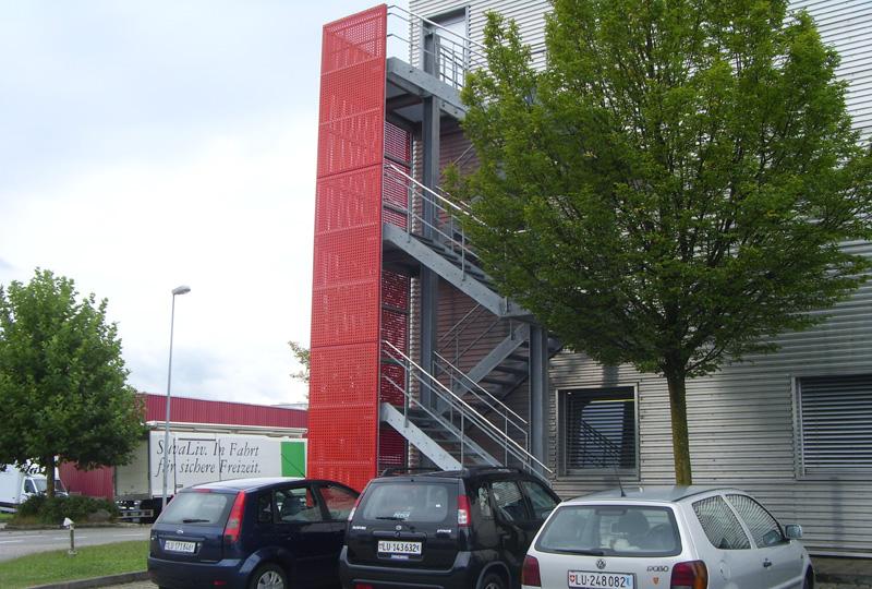 Treppenturm Möbel Egger Emmen Herger Und Koch Ag